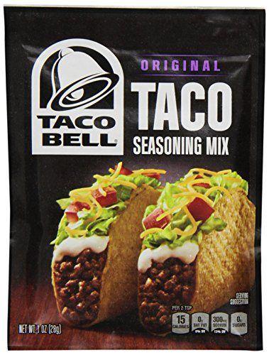 Taco Bell Seasoning Mix, Taco, 1 Ounce - http://spicegrinder.biz/taco-bell-seasoning-mix-taco-1-ounce/