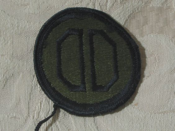 "MILITARY SHOULDER PATCH 31th Infantry "" Dixie"" Division Subdued Darkened Vietnam  Junk_575  http://ajunkeeshoppe.blogspot.com/"