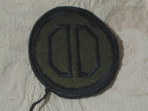 "MILITARY SHOULDER PATCH 31th Infantry "" Dixie"" Division Subdued Darkened Vietnam  Junk_575  http://ajunkeeshoppe.blogspot.com/"