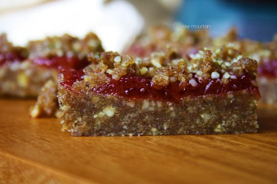 Raspberry bars, Raspberries and Bar on Pinterest