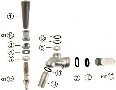 Beer Tap Faucet Leaking Intertap Beer Faucets Page 13 Homebrewtalk Com Beer Ikea Faucets How To Replace A S Kitchen Faucet With Sprayer Faucet Repair Faucet