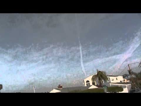 Those are not clouds; our skies are manufactured - YouTube