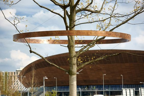 Creative Review - The History Trees at the Olympic Park