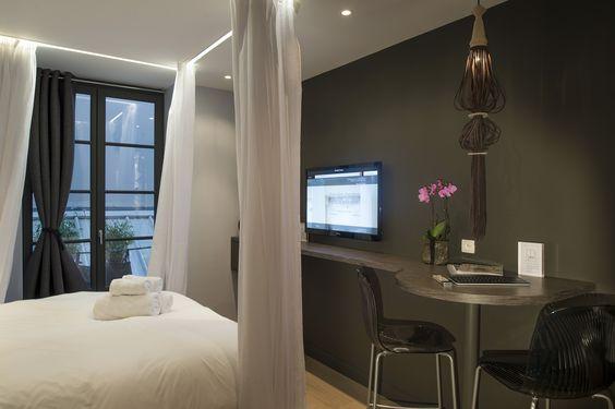 Le calme au cœur de la ville. Découvrez-nous sans plus attendre sur http://www.mihotel.com  #Hotel #Lyon #France #Luxury #Design