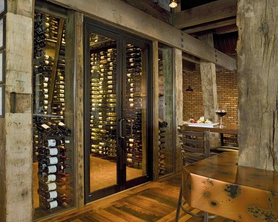 Wine Cellar Glass Countertops Kitchen Design, Pictures, Remodel, Decor and Ideas