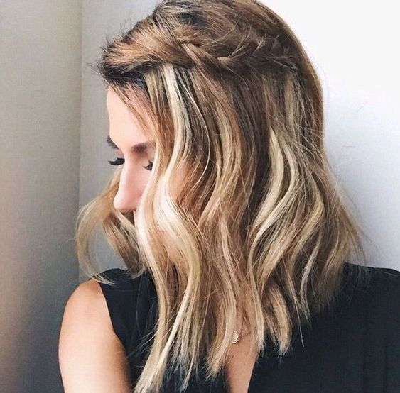 pretty summer side braid | hair inspiration