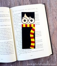 Bookmarks free printable and harry potter on pinterest for Diy bookmarks for guys