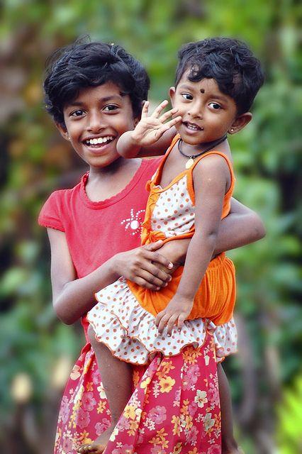Sri Lanka smiling girls | Flickr - Photo Sharing! Photo by Frank van den Ing