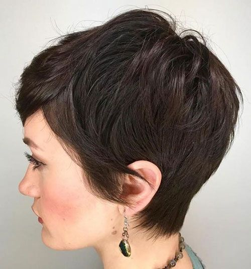20 New Ideas Short Haircuts For Thick Hair In 2020 Pixie Haircut For Thick Hair Thick Hair Styles Short Hairstyles For Thick Hair