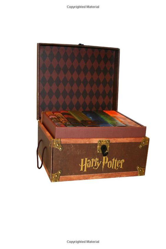 Amazon.com: Harry Potter Hardcover Boxed Set: Books #1-7 (9780545044257): J. K. Rowling: Books