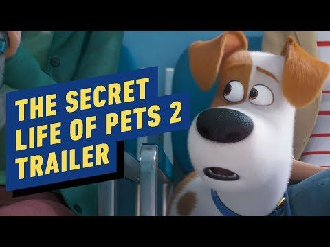 The Secret Life Of Pets 2 Official Trailer 2019 Kevin Hart Secret Life Of Pets Secret Life Official Trailer