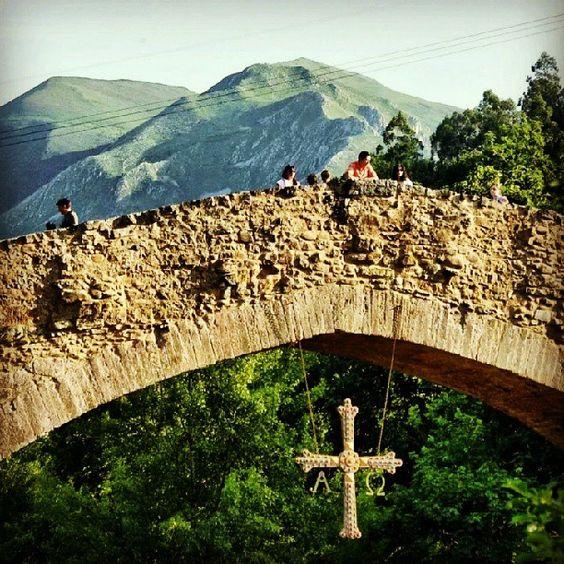 Puente Romano, Cangas