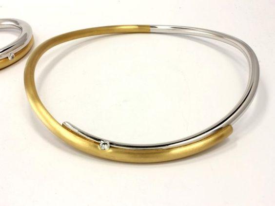 Gold Halsreifen - 4011/8B
