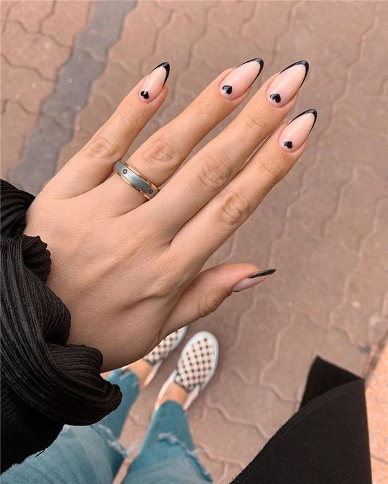 Trendy Valentine S Day Nails For 2021 In 2021 Heart Nails Heart Nail Designs Nail Designs Valentines