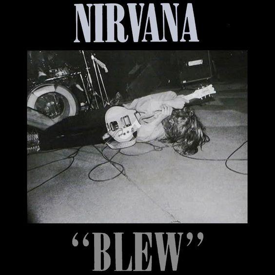 Nirvana – Blew (single cover art)