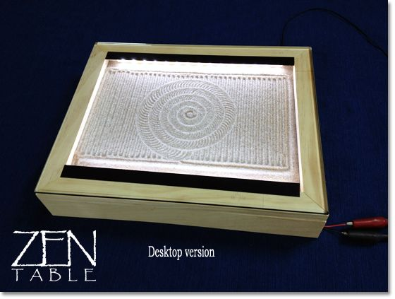 zen garden furniture. zen table is programmable sand art so smart and soothing to watch comes in a desktop coffee size for the home pinterest garden furniture
