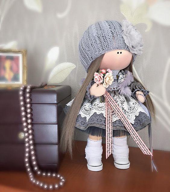 """""""Mi piace"""": 433, commenti: 16 - Куклы Валентины.My dolls (@kh.valentina) su Instagram: """"Позвольте познакомить вас с этой милой девочкой, которая уже познакомилась со своей хозяюшкой.…"""":"""