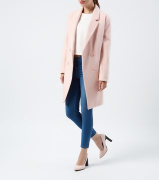 Tall Black Jersey Blazer | Pink Coats and Shops