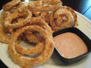 Baked onions, Onion rings and Baked onion rings on Pinterest