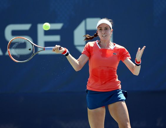 Christina McHale needed to defeat first-round opponent Mona Barthel of Germany, 6-2, 6-2
