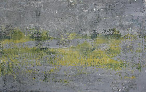 Koen Lybaert; Oil, 2012, Painting abstract N° 431