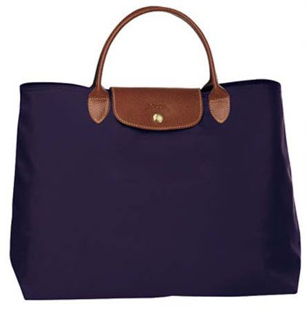 and this is her 2nd gift...a bilberry open tote longchamp bag....