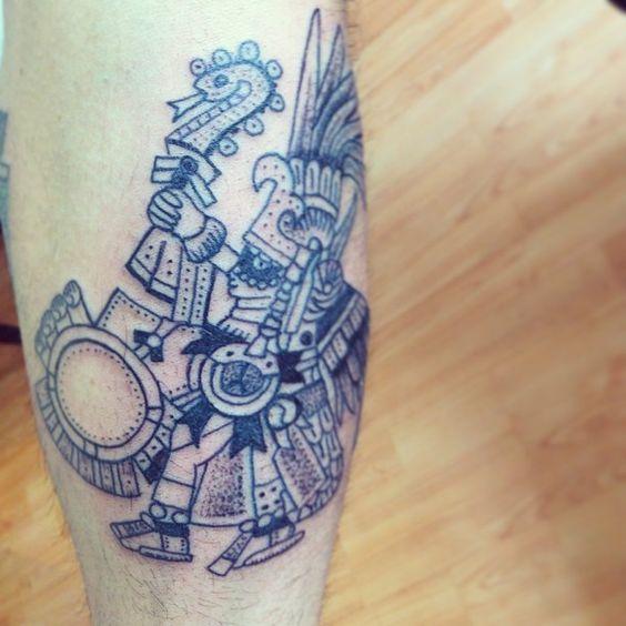 #huitzilopochtli #tattoo #xoch #xochtattoo (en Xoch Tattoo ...