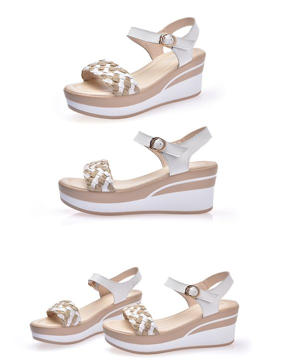 28 Comfort Platform Sandals To Inspire Yourself shoes womenshoes footwear shoestrends
