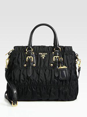 leather bag prada - Yes, please. Prada Tessuto Gaufre Tote Bag | My Style | Pinterest ...