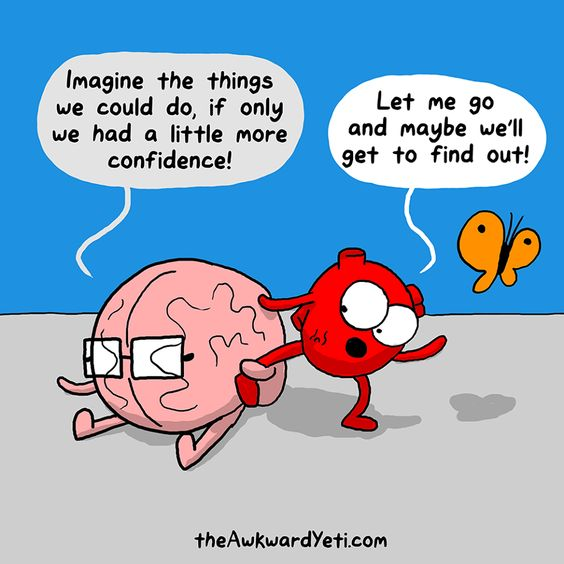 Heart and Brain: Confidence