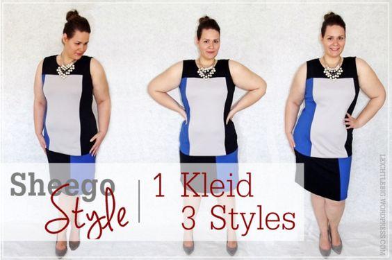 1 dress - 3 styles - new post now! @sheego #plussize +plussizefashion #fashion #styling #curvy #chlothes #fashionblogger #leichtlebig #blogger #blogger_de #sheego #dresses