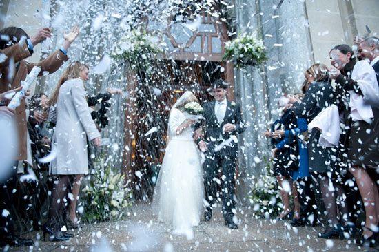 Lancio del riso? Non solo! Coriandoli e stelle filanti - Matrimonio .it : la guida alle nozze