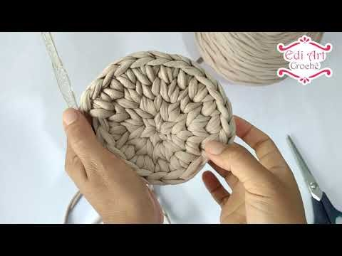 Bolsa Boho Redonda Passo A Passo Edi Art Croche Youtube Com