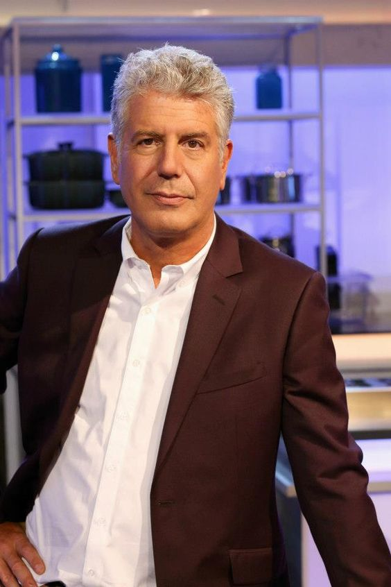 No-holds barred chef Anthony Bourdain.