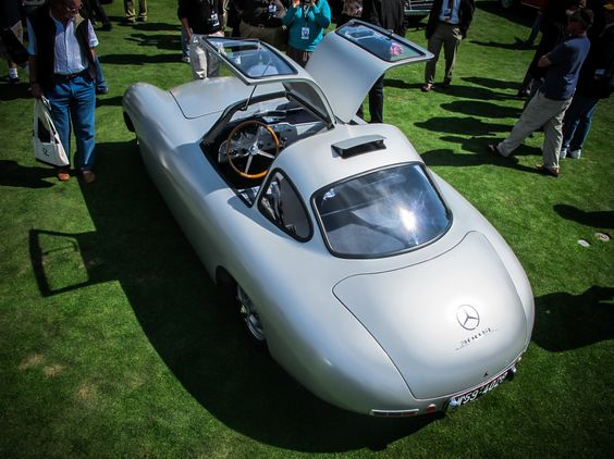 The Mercedes-Benz 1952 300 SL, chassis number two at the 2012 Pebble Beach Concours d'Elegance. For more information on our classic models, visit here: http://mbenz.us/M13sTP
