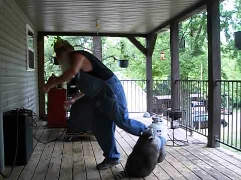 The Hillbilly Slide And One Mad Coon Staring Your Favorite Coon and Coonrippy!  Please share if  you will...Thank you!