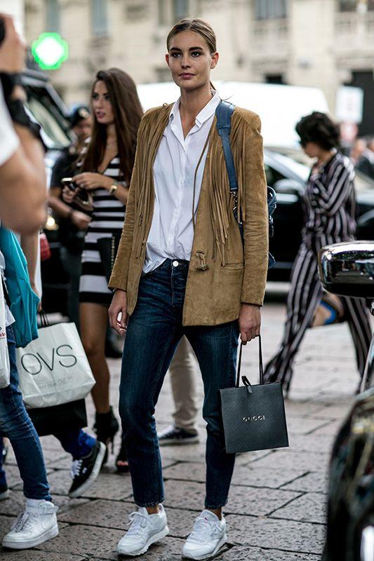 2015米蘭時裝周精選:十位模特兒私服街拍