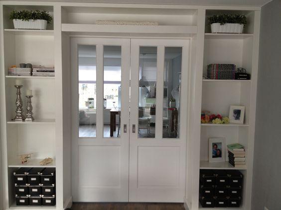 Kamer en suite kasten deuren - schuifdeuren  Pinterest