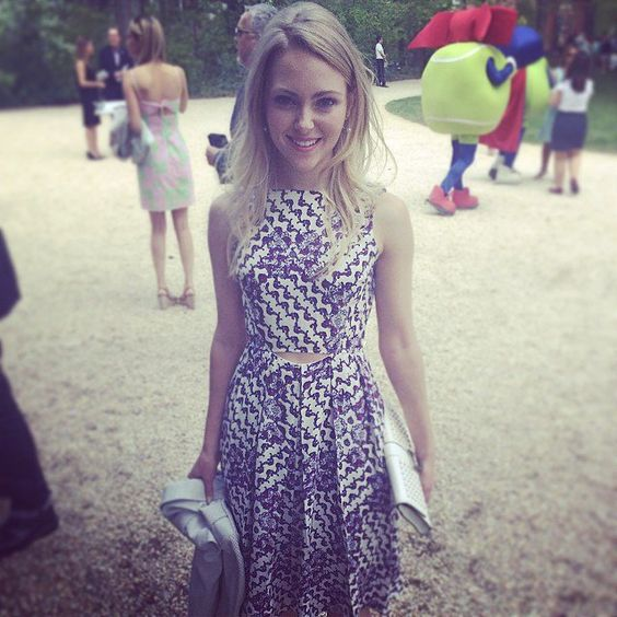 Pin for Later: A Behind-the-Scenes Look at the White House Correspondents' Weekend  AnnaSophia Robb was lovely at the annual garden brunch.