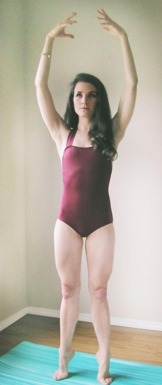 Beginner Ballet Routine for Dancer Legs - Peaceful Dumpling