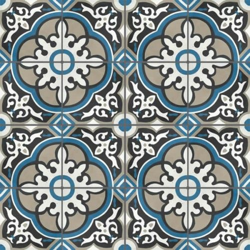 Moroccan Encaustic Cement Pattern 29b | £ 2.72 | Moroccan Encaustic Cement Pattern Tiles | Best Tile UK | Moroccan Tiles | Cement Tiles | En...
