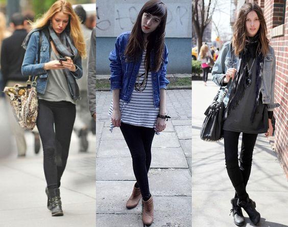 jaqueta jeans look - Pesquisa Google