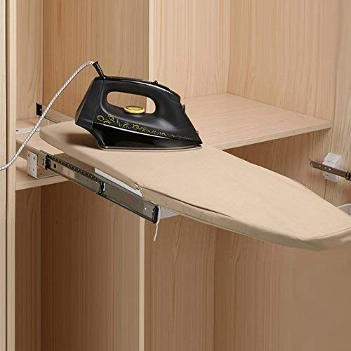 Amazon Com Homebasix Closet Pull Out Retractable Ironing Board