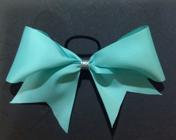 Tiffany Blue Big Cheer Bow by 4CheerByCheer on Etsy