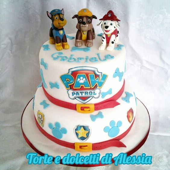 paw patrol birthday cakes for boys