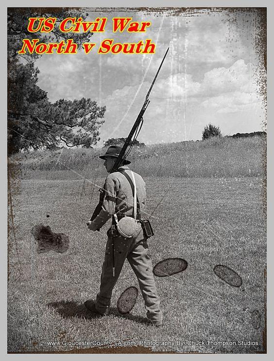 https://flic.kr/p/tCw43x | US Civil War - North v South, Yorktown, VA 2015 | US Civil War - North v South, Yorktown, VA 2015