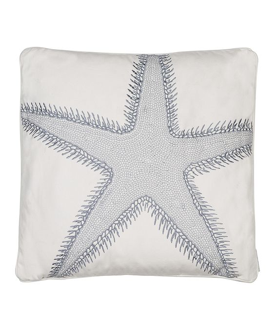 Starfish Throw Pillow. zoology.co.uk