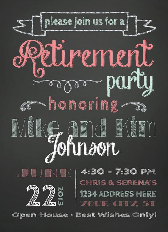 Retirement Party Invitation – Retirement Party Invitations Online