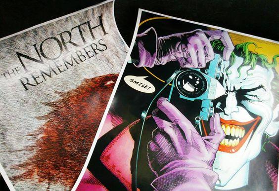 Posters impressos! Agora começa a produção de mais dois quadros.. STORM não para!  http://lojastorm.com.br/