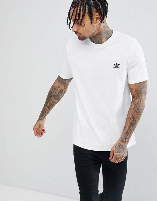adidas Originals Essentials T Shirt in white